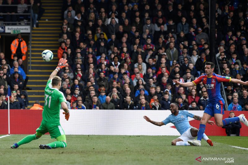 City kembali ke puncak klasemen liga Inggris usai libas Crystal Palace