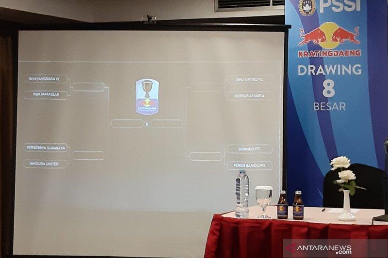 Laga-laga penuh nostalgia warnai delapan besar Piala Indonesia