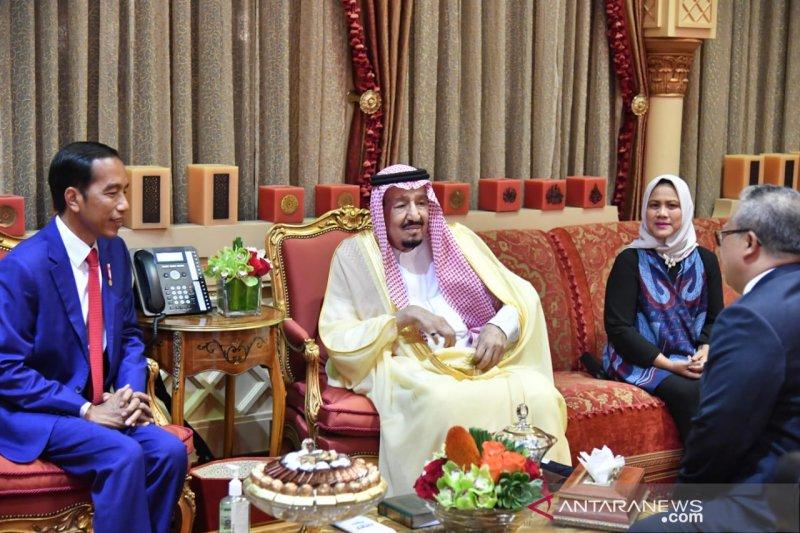 Raja Salman hidangkan secara khusus nasi mandhi untuk Jokowi