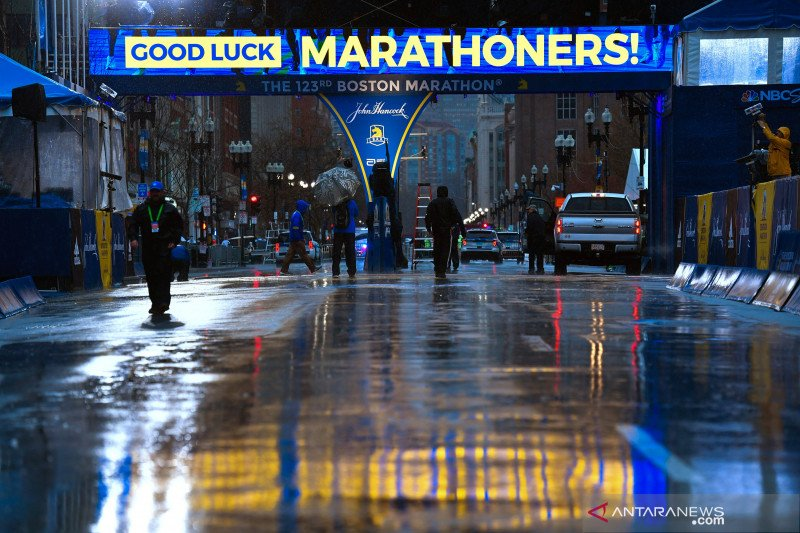 Boston Marathon terpaksa dibatalkan karena COVID-19