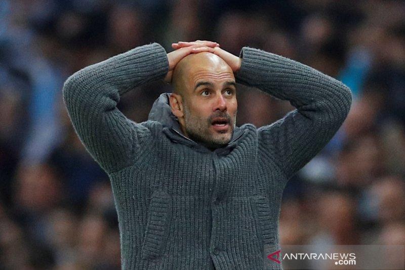 Guardiola legowo, Manchester City tersingkir dari Liga Champions