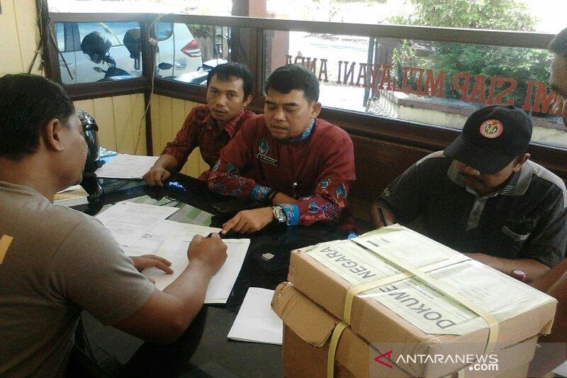 Ujian nasional 90 SMP/MTs Kotim masih gunakan kertas pensil