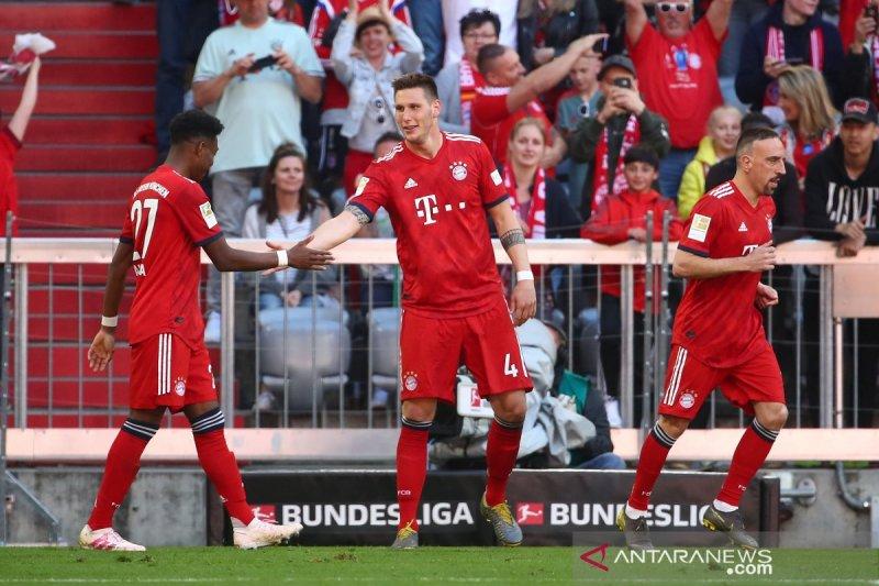 Muenchen semakin mantap di puncak hasil dan klasemen Liga Jerman