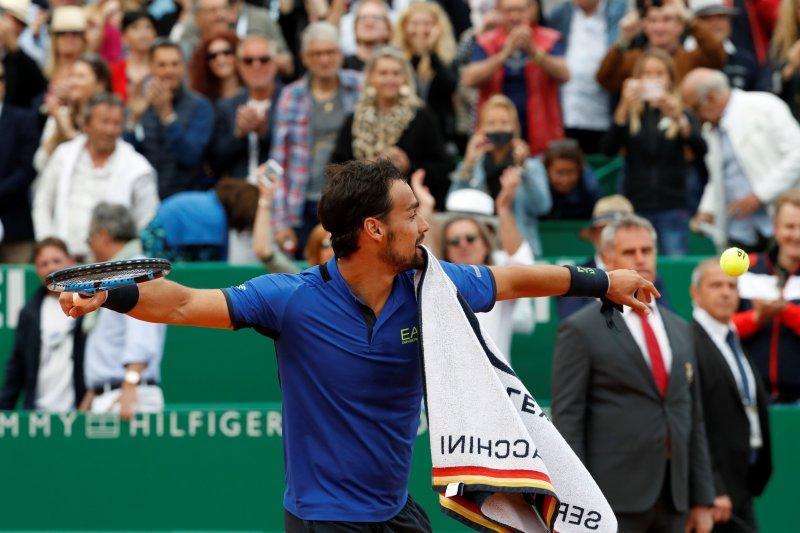 Fognini bungkam Nadal di semifinal Monte Carlo Masters