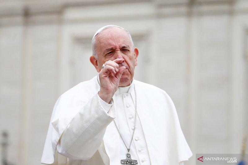 Paus : Penggundulan hutan harus dipandang sebagai ancaman