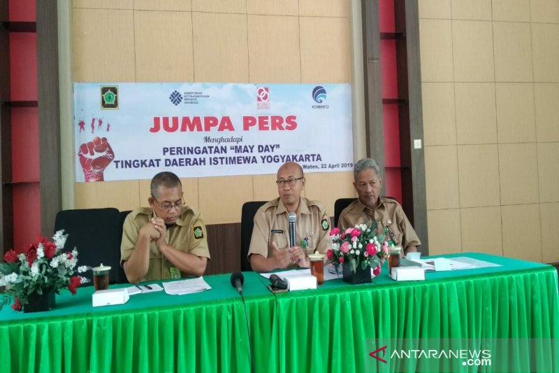 Disnakertrans Kulon Progo peringati Hari Buruh dengan kearifan lokal