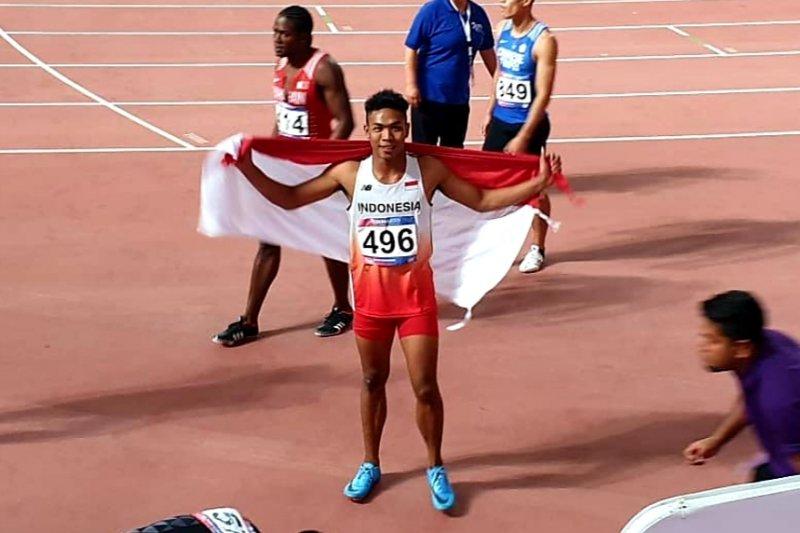 Zohri mempertajam rekornas dan meraih perak di Kejuaraan Asia