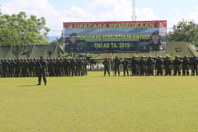 348 prajurit Tamtama ikuti  Diktukba TNI AD 2019