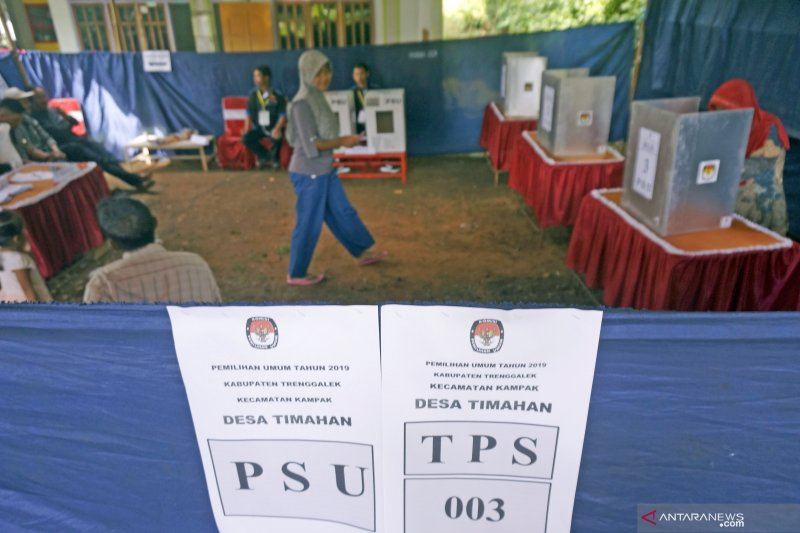 Pengamanan 46 TPS gelar PSU di Padang diperketat