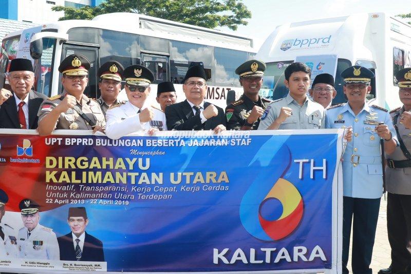 Bus Samling untuk Mudahkan Wajib Pajak