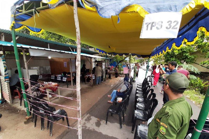Pemungutan suara ulang di Tanjungpinang masih sepi pemilih