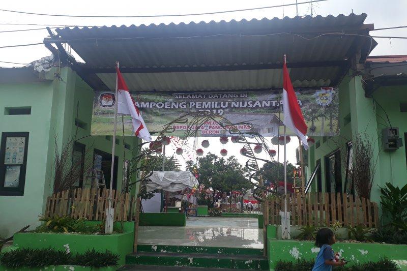 KPU Depok lakukan pemungutan suara ulang di TPS 65 Tapos