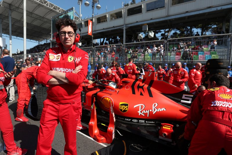Power unit baru Ferrari dibawa ke Barcelona