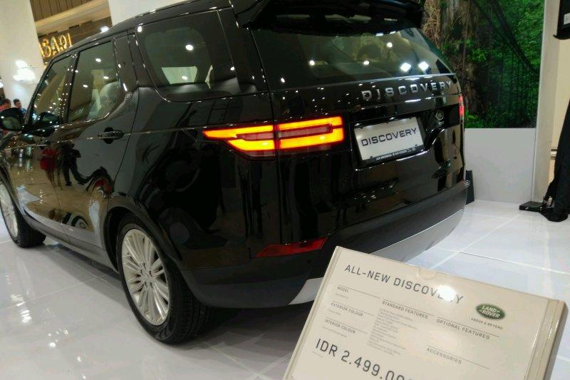Land Rover Indonesia bidik penjualan seri Discovery