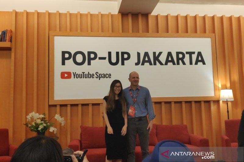 YouTube Pop-Up Space Jakarta fasilitasi vlogger