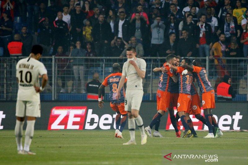 PSG telan kekalahan tandang beruntun di markas Montpellier