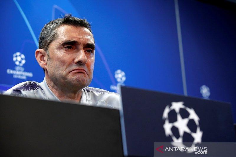 Skor 3-0 belum berarti apa-apa, kata Ernesto Valverde