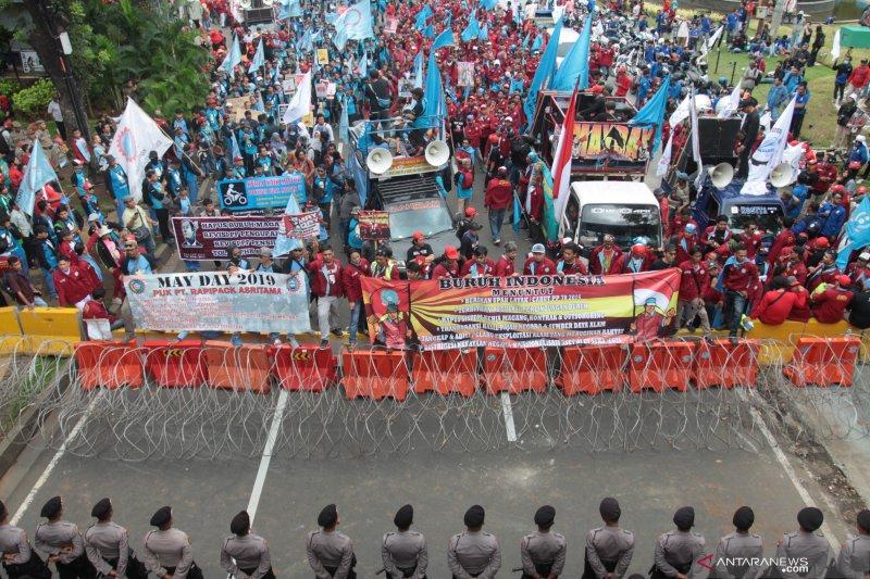 Polda Metro Jaya selidiki aksi vandalisme pada May Day 2019
