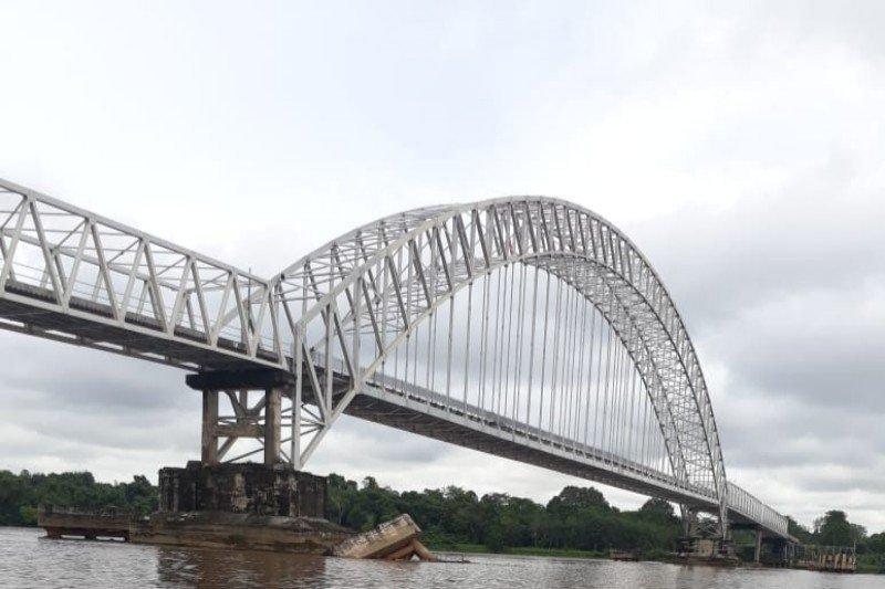 Tak ada kontraktor yang berani mengerjakan perbaikan Jembatan Kalahien