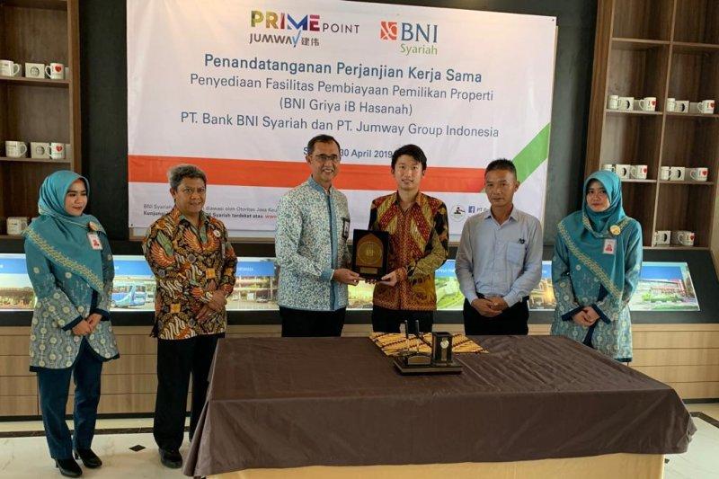 BNI Syariah Gandeng Developer Properti Serang, Jumway Group Indonesia