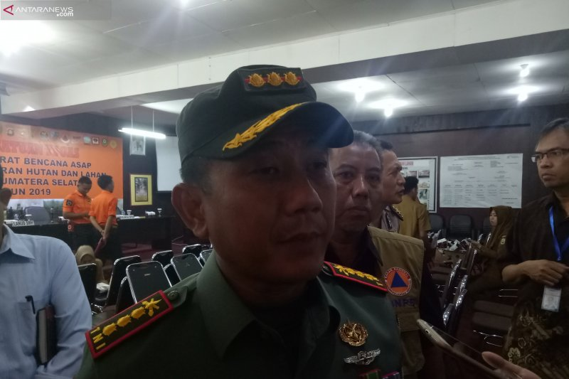 Danrem: TNI terdepan cegah kebakaran hutan dan  lahan