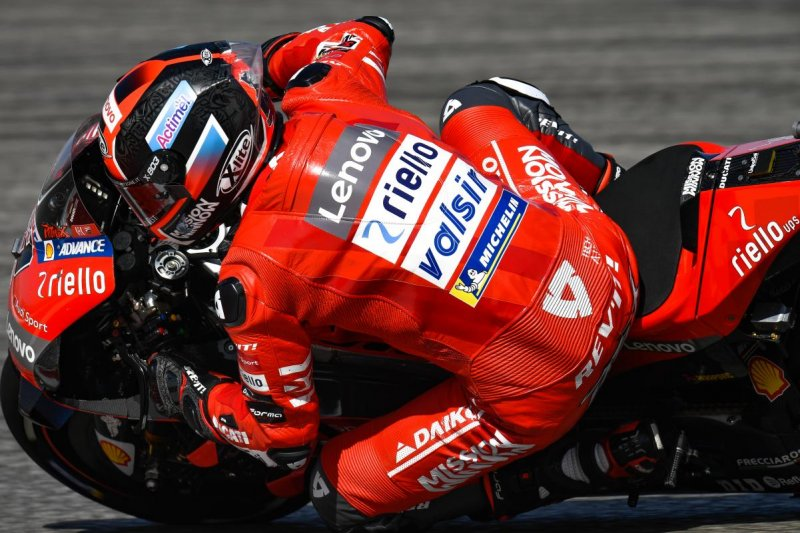 Petrucci bersaing ketat dengan Marquez di sesi latihan bebas Jerez