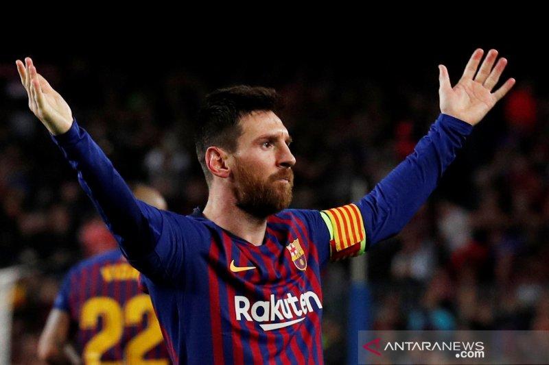 Messi merupakan dewa sepak bola
