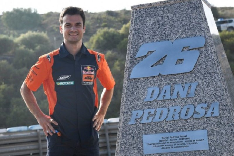 Pedrosa jadi nama Tikungan 6 di Sirkuit Jerez