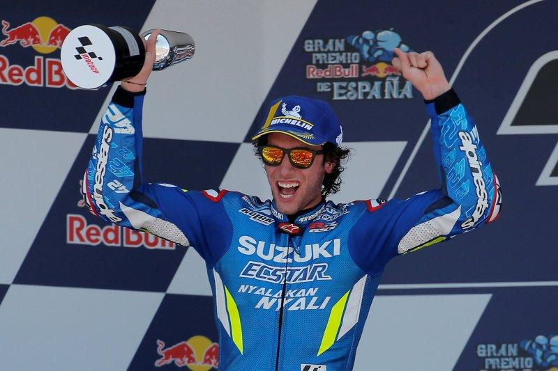 Ini strategi Alex Rins finis kedua di Jerez