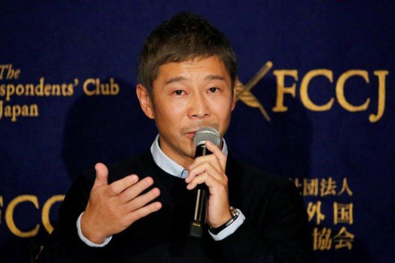 Milyarder Jepang  Yusaku Maezawa  hadiahkan 9 juta dolar AS sebagai 'eksperimen sosial'