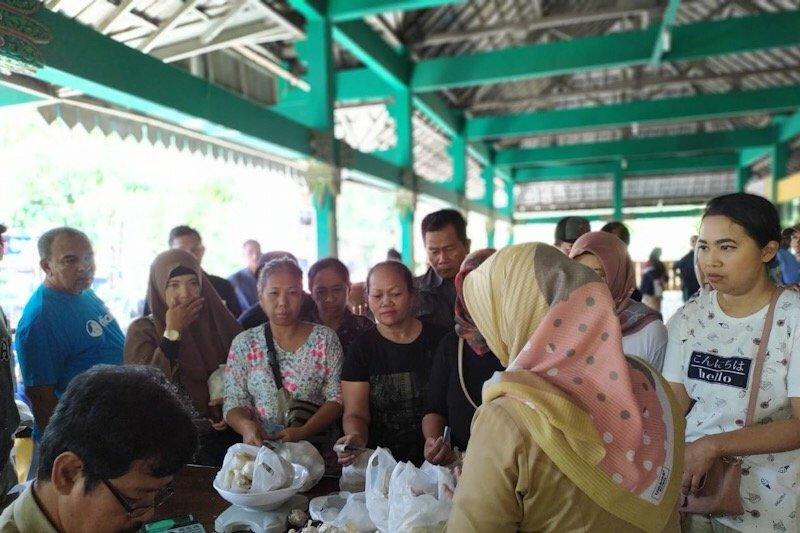 Disperindag Yogyakarta kembali gelar operasi pasar bawang putih