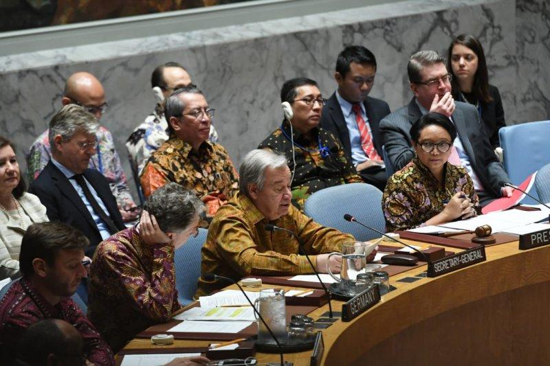 Sekjen PBB memuji  keterlibatan Indonesia dalam pemeliharaan perdamaian