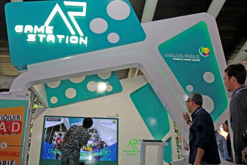 Station Game di Bandara Soetta