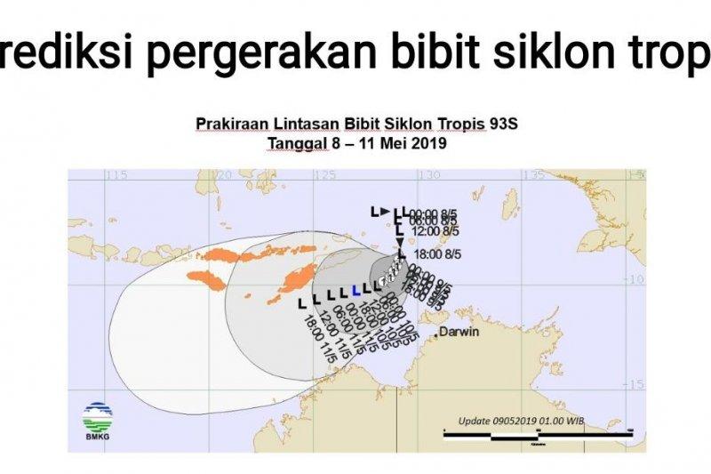 Siklon tropis 93S telah berubah menjadi siklon tropis Lili
