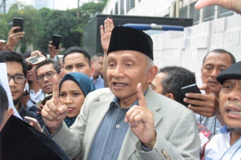 Amin Rais dirikan partai baru dan prosesnya sudah 70 persen