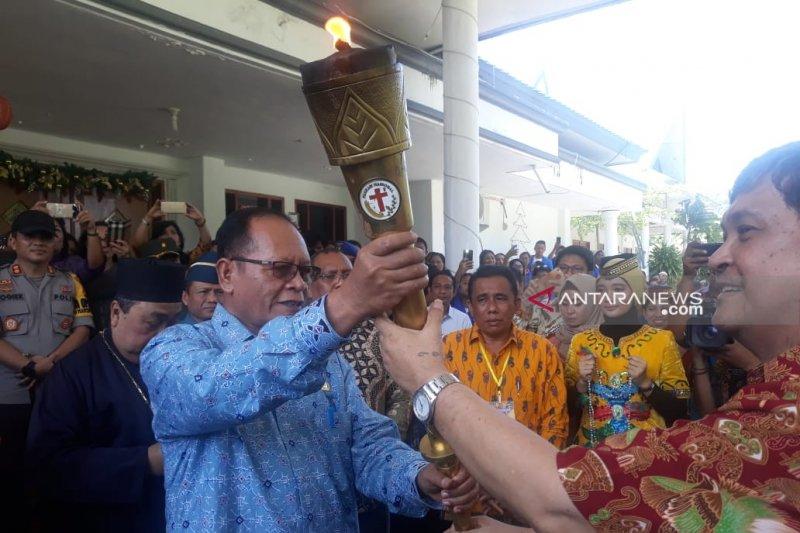 Puncak peringatan Paskah Nasional di Tentena Poso berlangsung meriah