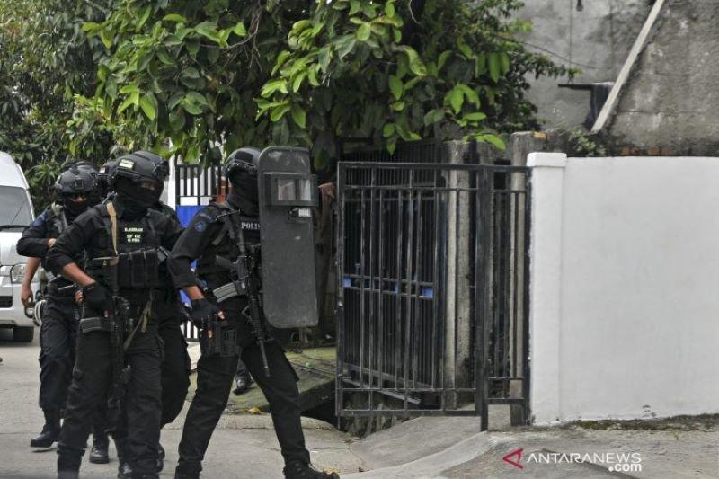 23 terduga teroris jaringan JI di Lampung dipindahkan  ke Jakarta