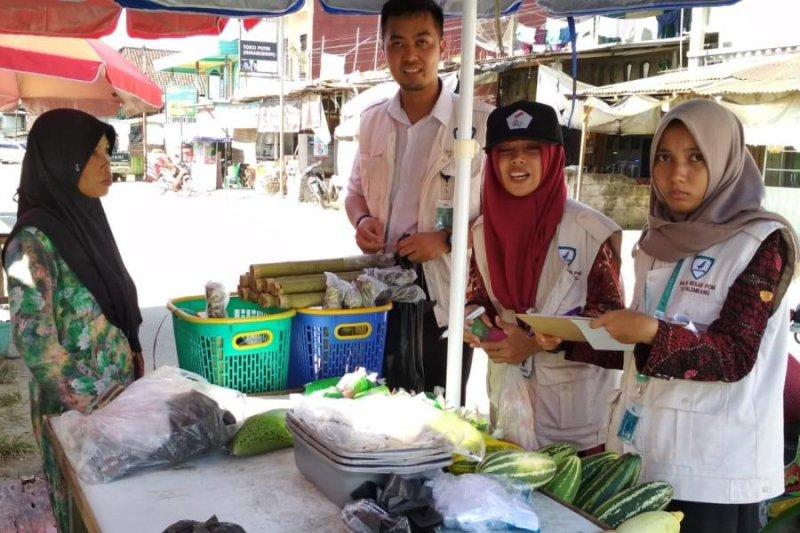 BBPOM  turunkan tim awasi pasar bedug di Palembang
