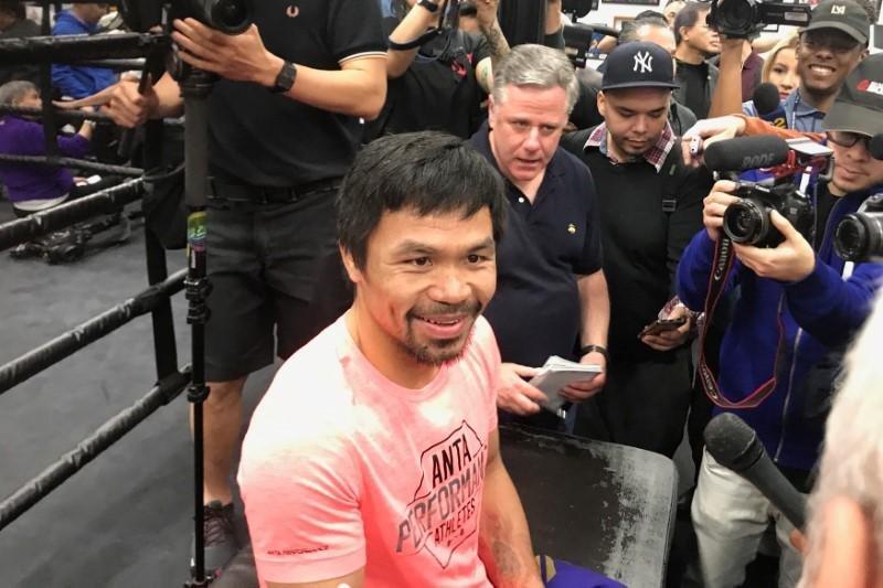 "Pacquiao ""Pac-Man"" bakal naik ring lagi"