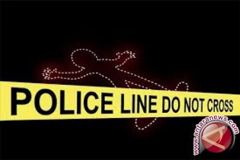 Jenazah diduga polisi tewas dengan tubuh terluka