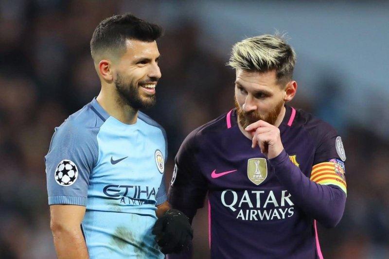 Aguero klarifikasi pernyataan hoaks soal Messi