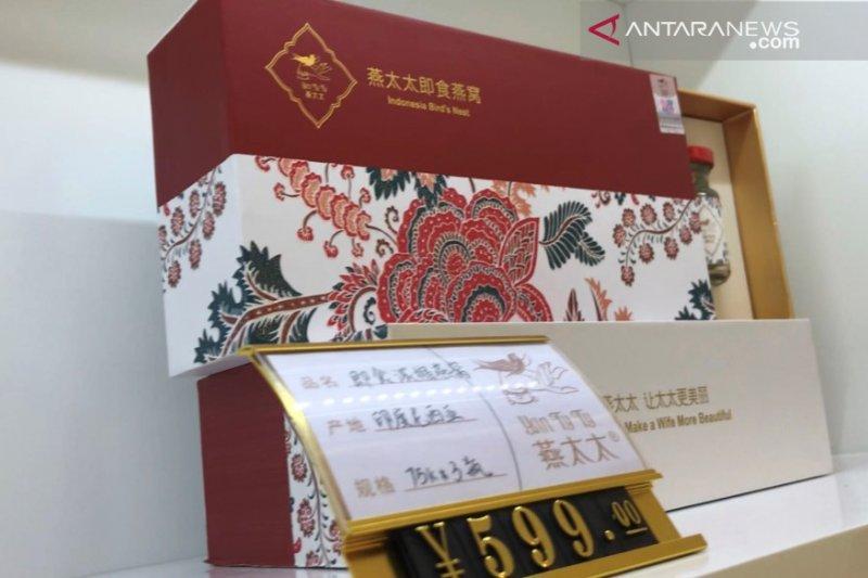 2 toko produk olahan sarang walet Indonesia dibuka di China
