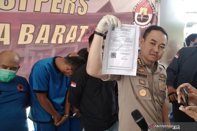 Kelompok 'debt collector' palsu ditangkap Polisi Jabar
