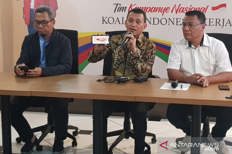 TKN sarankan BPN urungkan pembentukan TPF PIlpres 2019