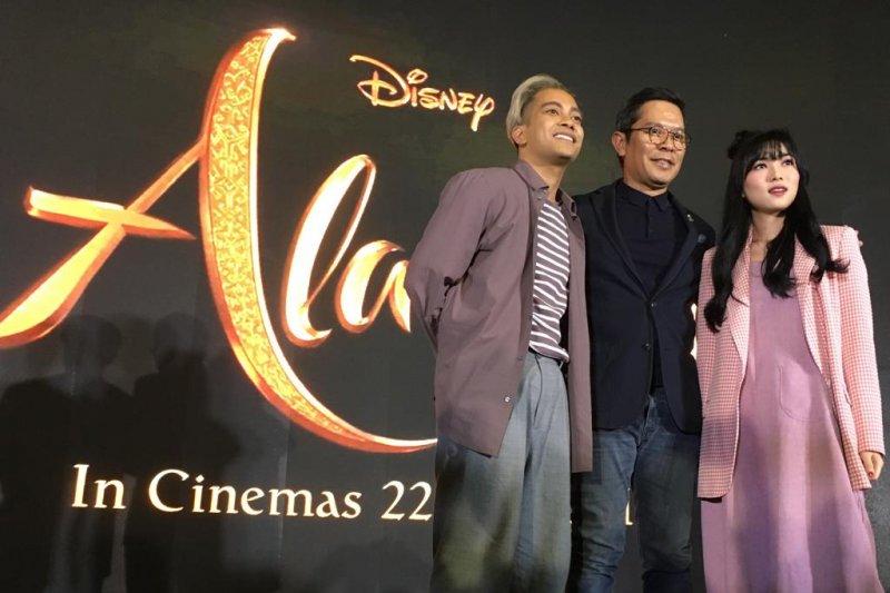 "Disney gaet Isyana-Gamaliel lantunkan ""A Whole New World"""