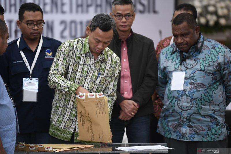 Rekapitulasi nasional Jokowi-Ma'ruf unggul 18 provinsi, Prabowo-Sandiaga unggul 11 provinsi