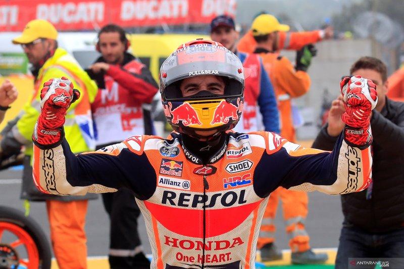 Marc Marquez sukses juarai GP Prancis