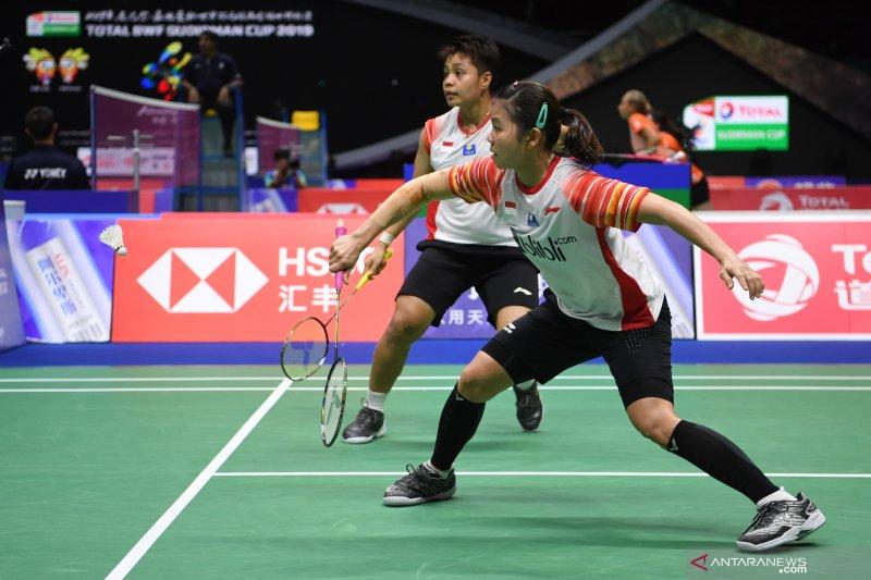 Piala Sudirman - Greysia/Apriyani berhasil atasi perlawanan ketat Birch/Smith