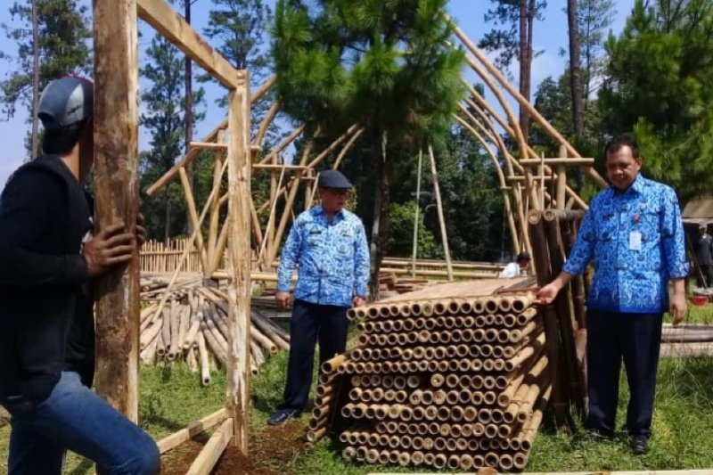 Destinasi wisata Kampung Bambu Purbalingga siap sambut wisatawan