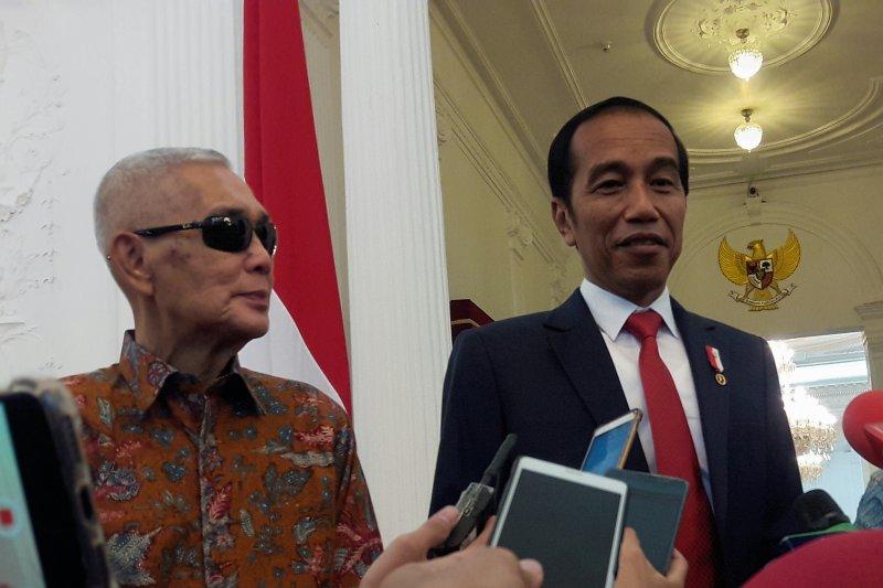 Try Sutrisno doakan Joko Widodo terus terbuka hadapi tantangan bangsa